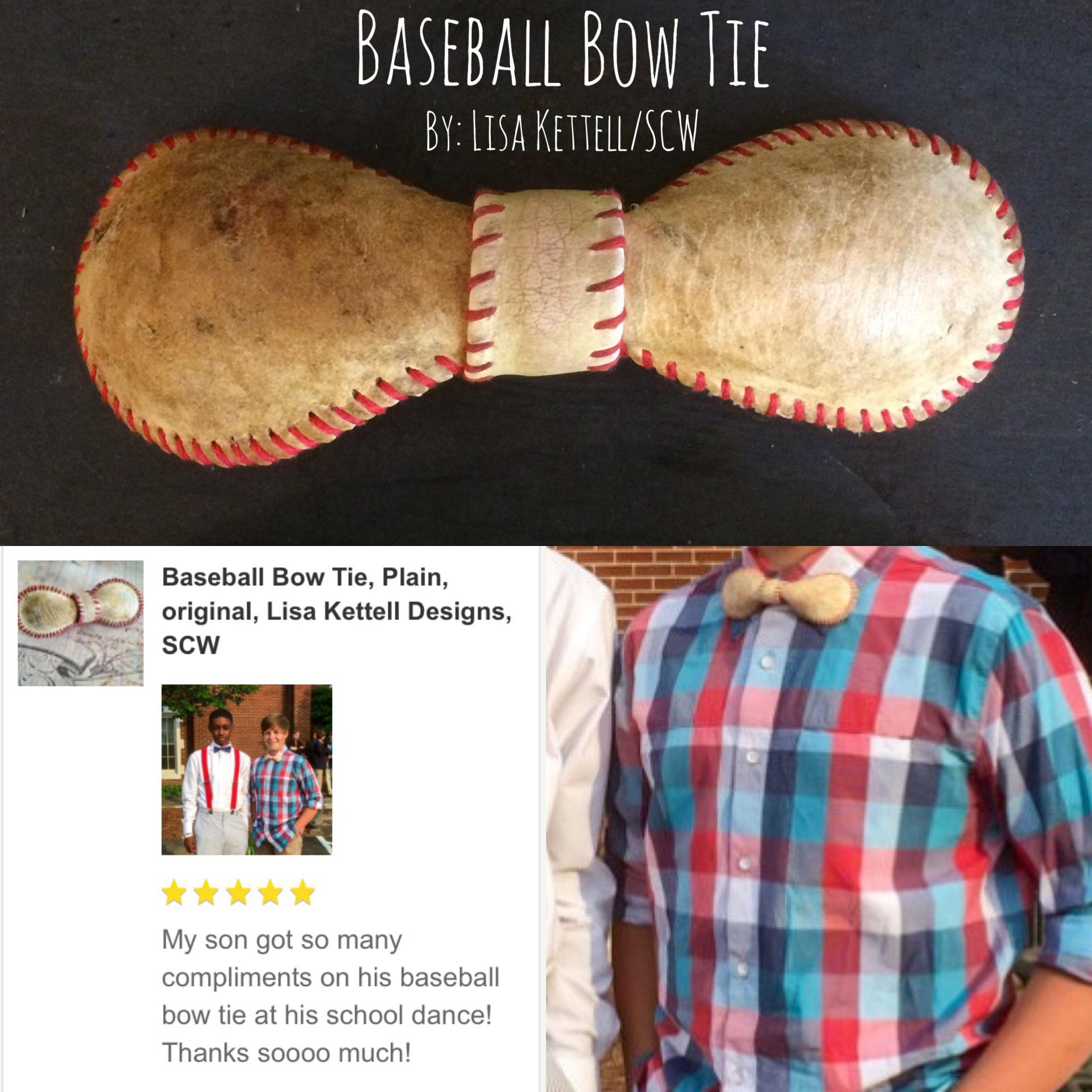 Baseball Bowtie