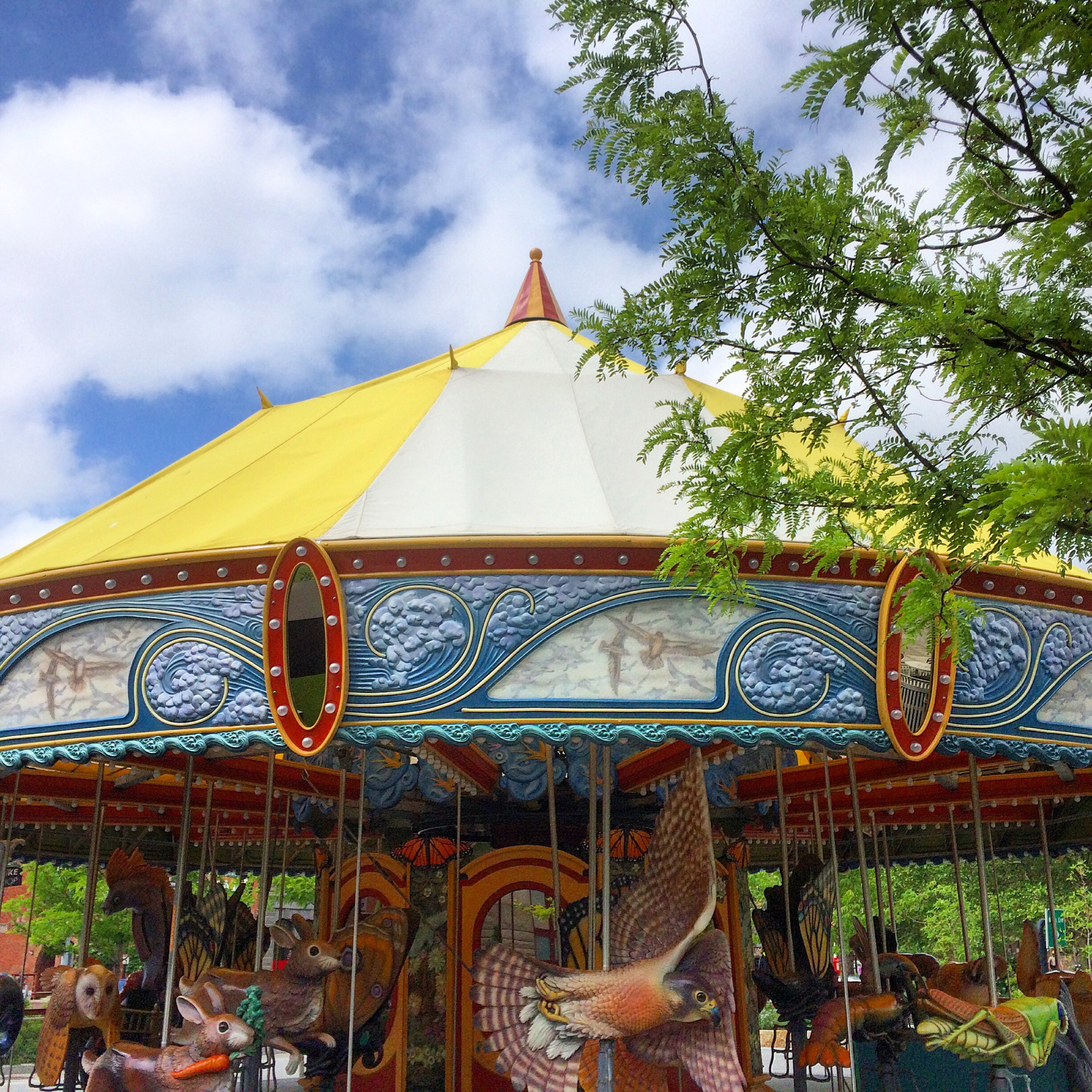 The Greenway Carousel