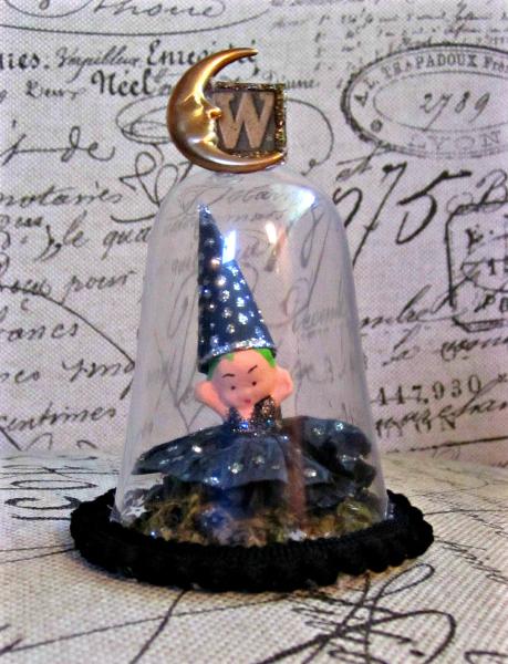 Wizard Kewpie Assemblage
