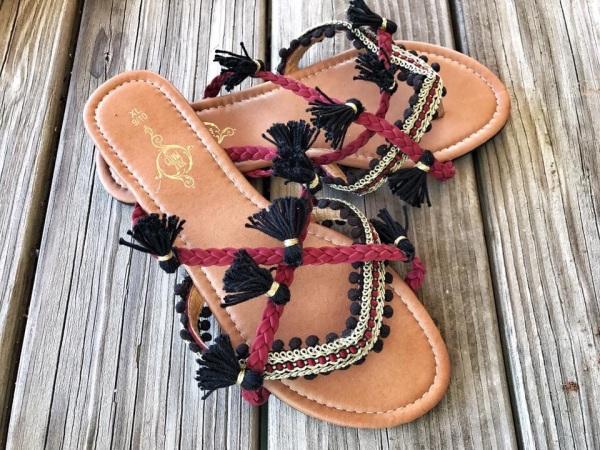 DIY Boho Sandals