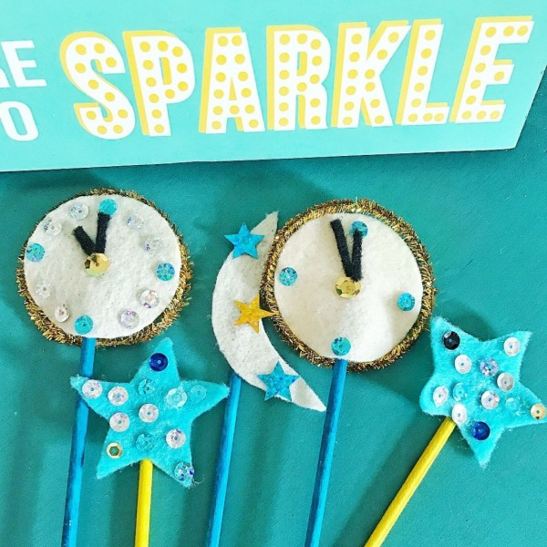 NYE Party Stirrers and Toppers
