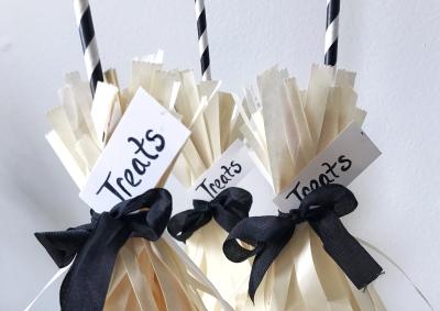 Paper Bag Brooms