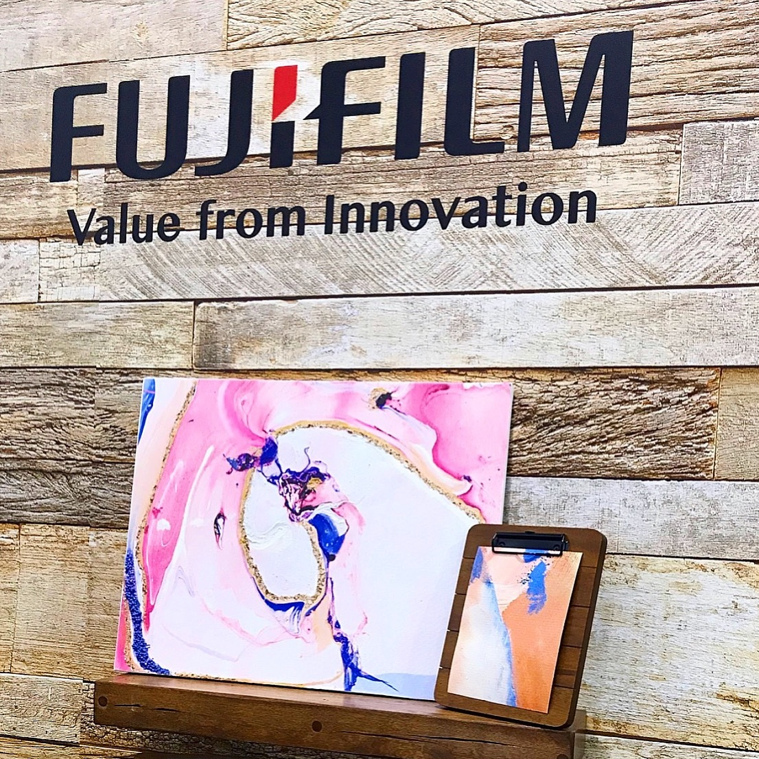 Creativation 2019 FujiFilm Booth