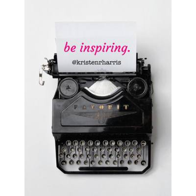 #TwoWords Be Inspiring