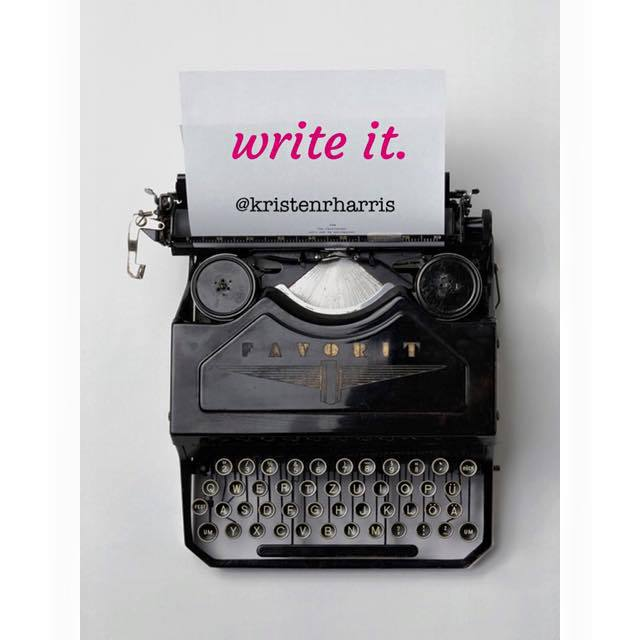 #TwoWords Write It