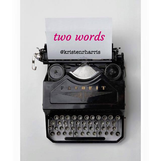 #TwoWords
