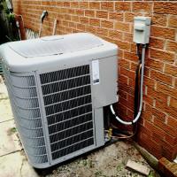 Air Conditioning Condenser Install