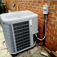 Air Conditioning Condenser Install