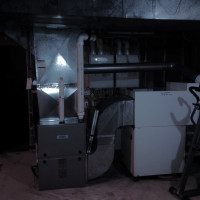 High Efficiency Keeprite Furnace Installation