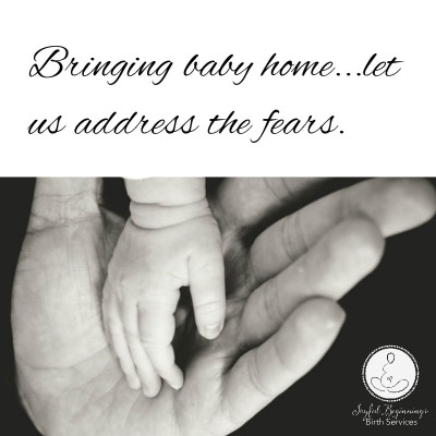 New baby fears, family, mom, dad