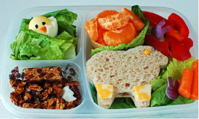 HEALTHY LUNCH OPTIONS FOR SCHOOL AND WORK