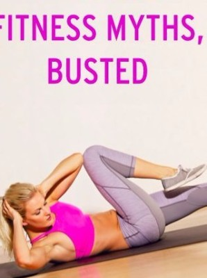 6 COMMON FITNESS MYTHS BUSTED
