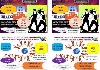 AFTER SCHOOL FITNESS CLASSES FOR KIDS&TEENS