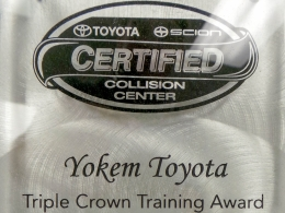 Triple Crown Training Award