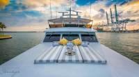 Trilogy Yacht - Bow Sunpad