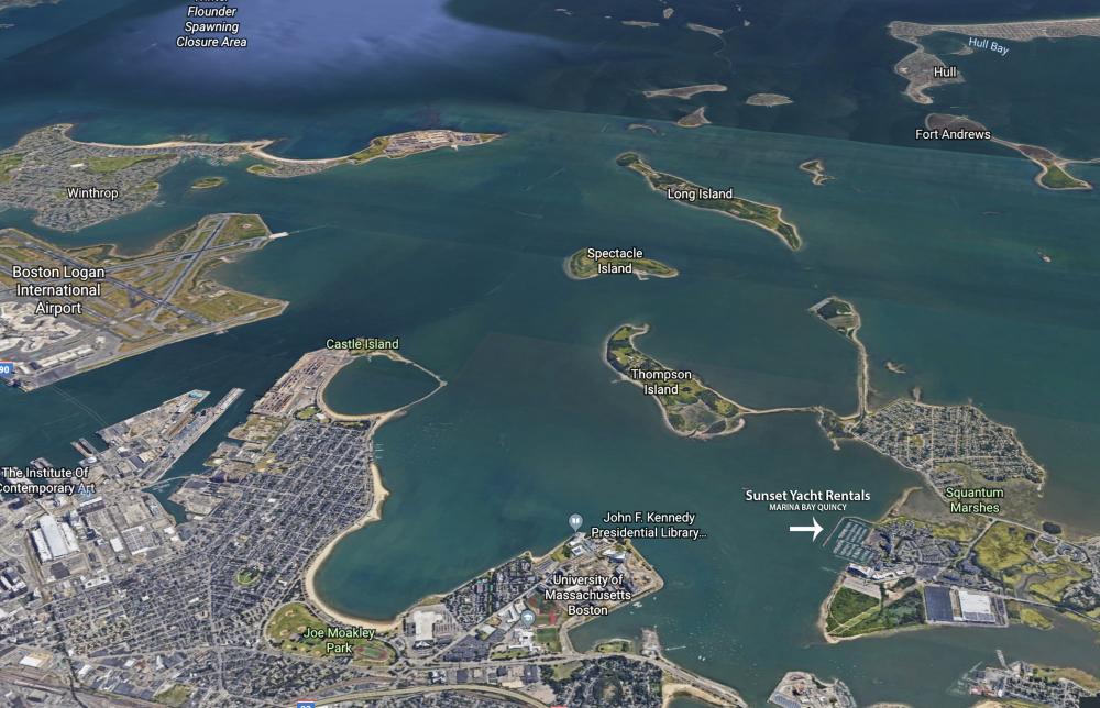Historic Boston Harbor & The Islands