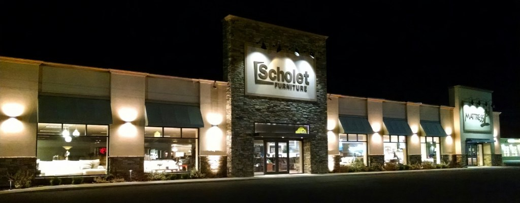 Scholet Furniture Remodel, Oneonta NY