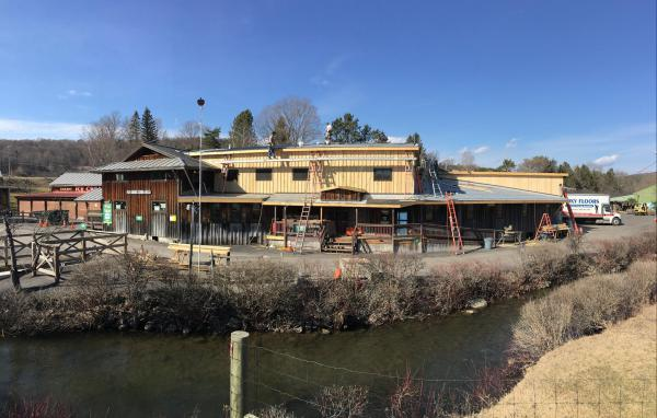 Addition to Fly Creek Cider Mill, Cooperstown NY