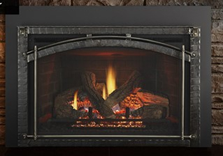 Mendota FullView Grace Arch Gas Insert with Accent Bars