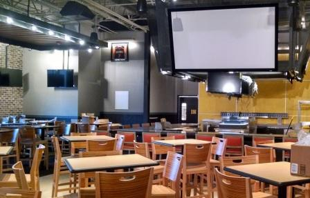 Dining Area Buffalo Wild Wings Restaurant Oneonta NY