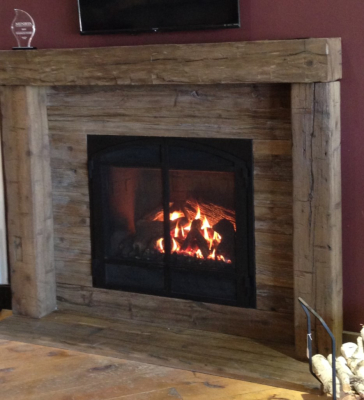 Magrahearth Wood Mantel and Surround