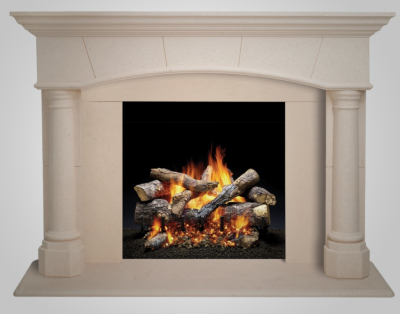 Fireside Mantel