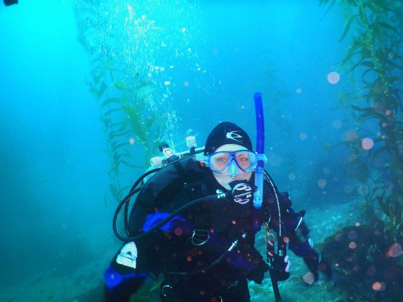 WINTER TIME DIVING