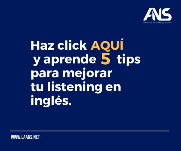 Tips para mejorar tu listening en Inglés