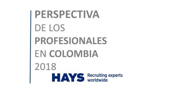 Perspectiva de los profesionales en Colombia 2018