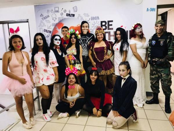 Concurso de disfraces Halloween 2018