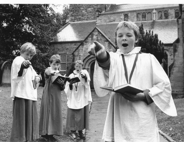 Corbridge  St Andrew, 1985