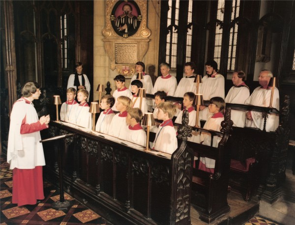 Newark Parish Church, 1982