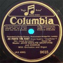 The record label