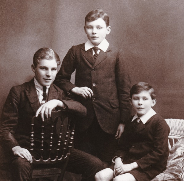 Norman and his brothers