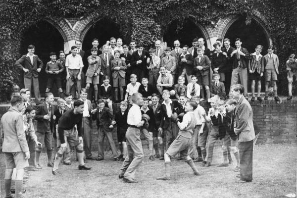 Leatherhead  St John's School, 1942