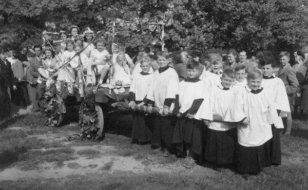 Malvern Link  St Mathias, 1950s
