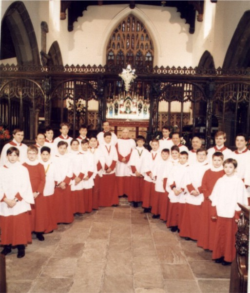 Skipton Parish Church, 1989