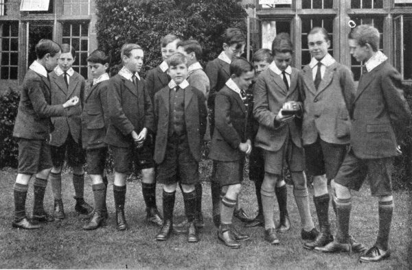 Clumber Park Choir School, 1922