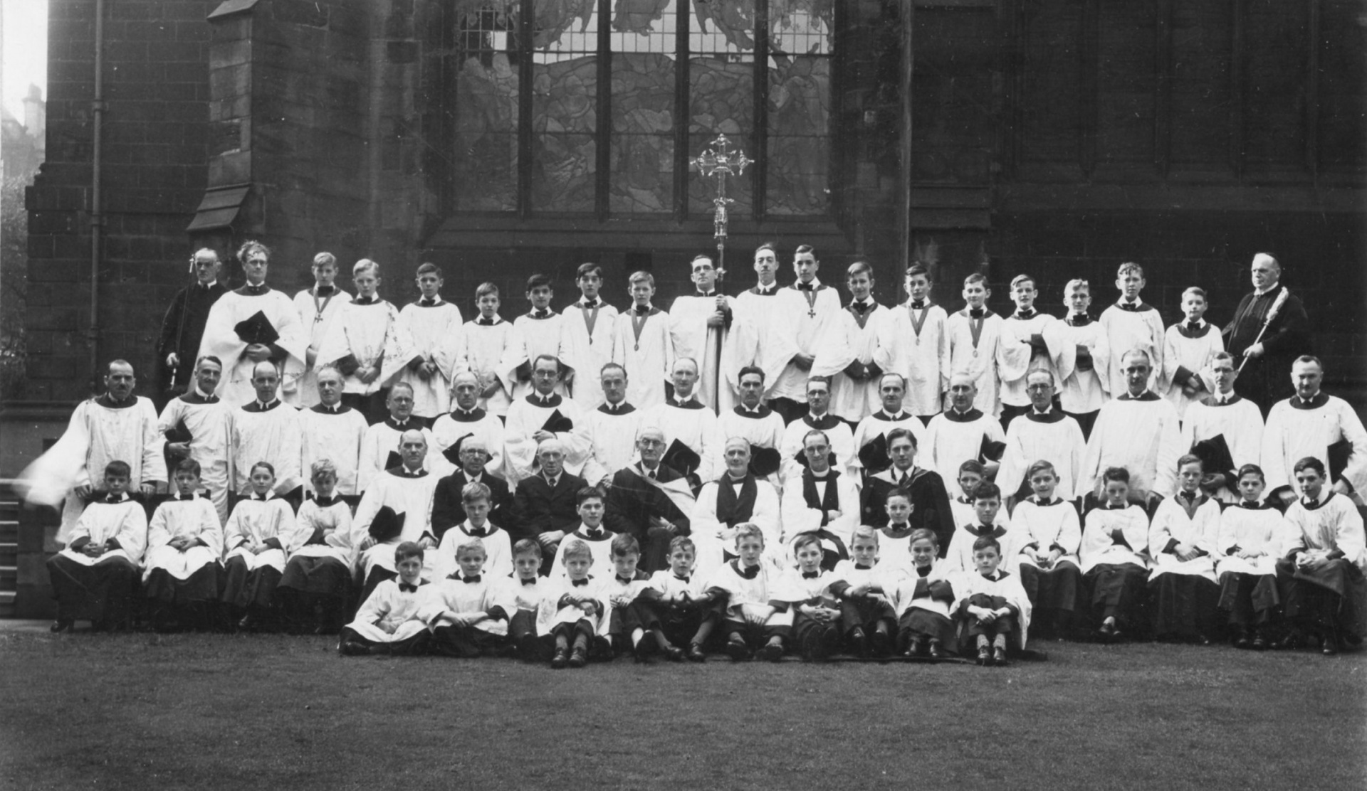 Newcastle Cathedral, 1938