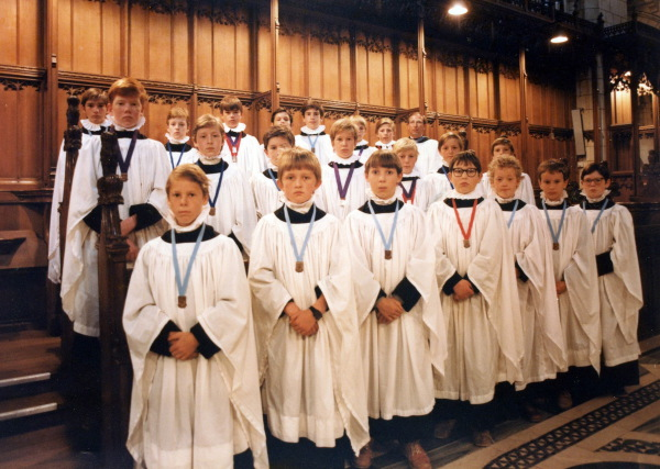 Buckfast Abbey, 1981