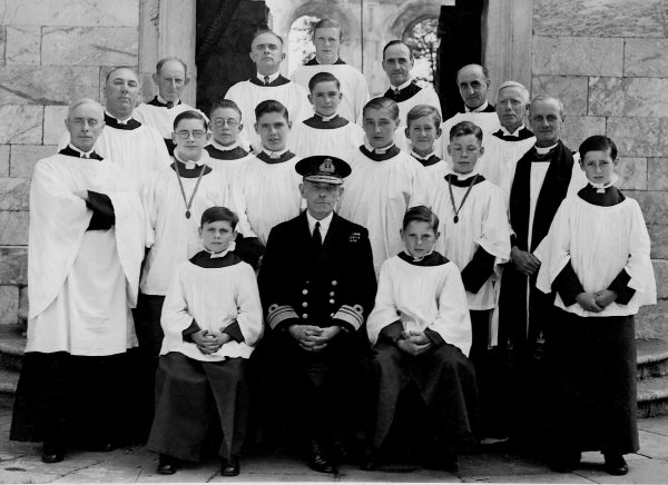 Plymouth  Devenport Dockyard Chapel Choir, 1941