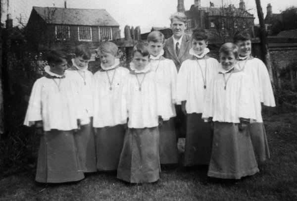 Farrington Church Farm House School Chapel  1940
