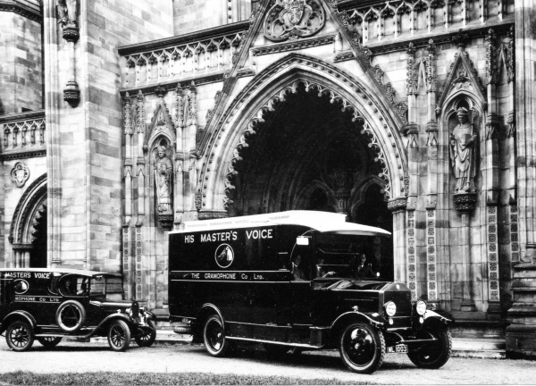 Hereford Cathedral, 1927
