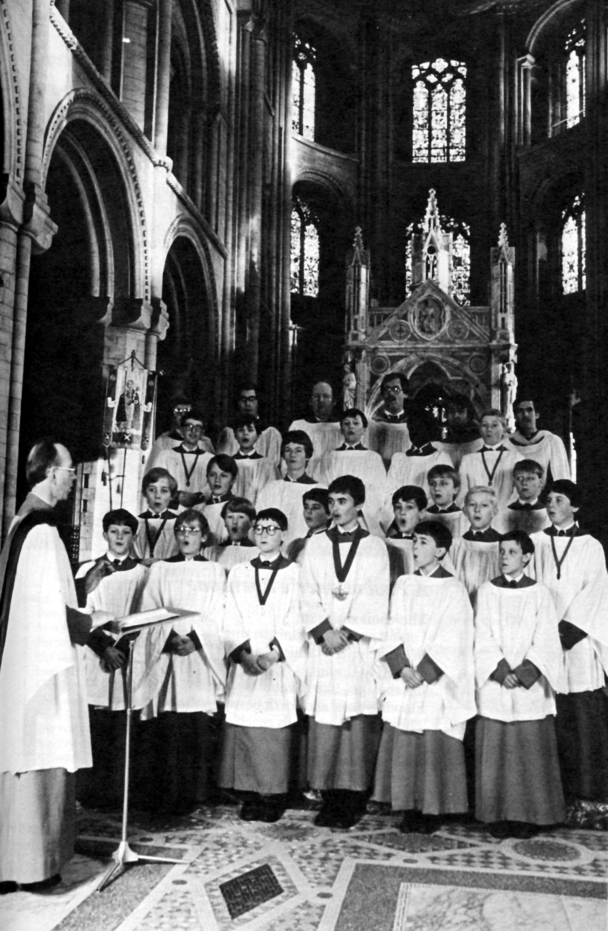 Peterborough Cathedral, 1984