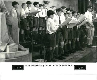 St John's College, Cambridge.  1964