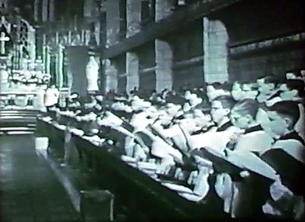 Ushaw College Chapel Choir, 1962