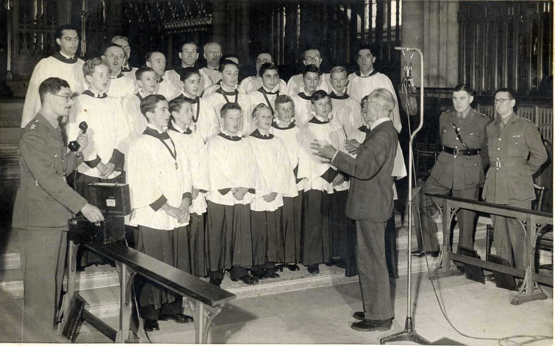BBC Forces Evensong, 1943