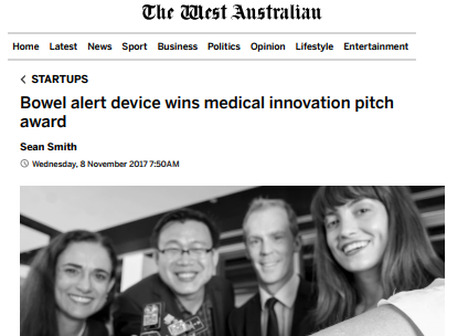 Pitch Night Winners NIMo in The West Australian