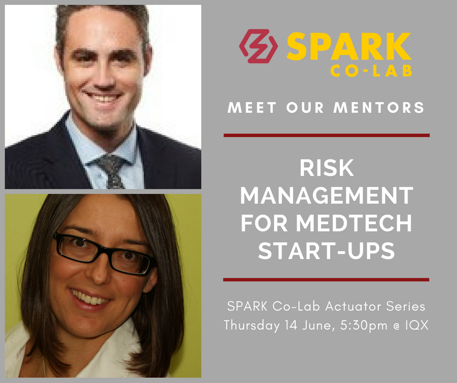 Meet Our Mentors:  Risk Management for MedTech Start-Ups