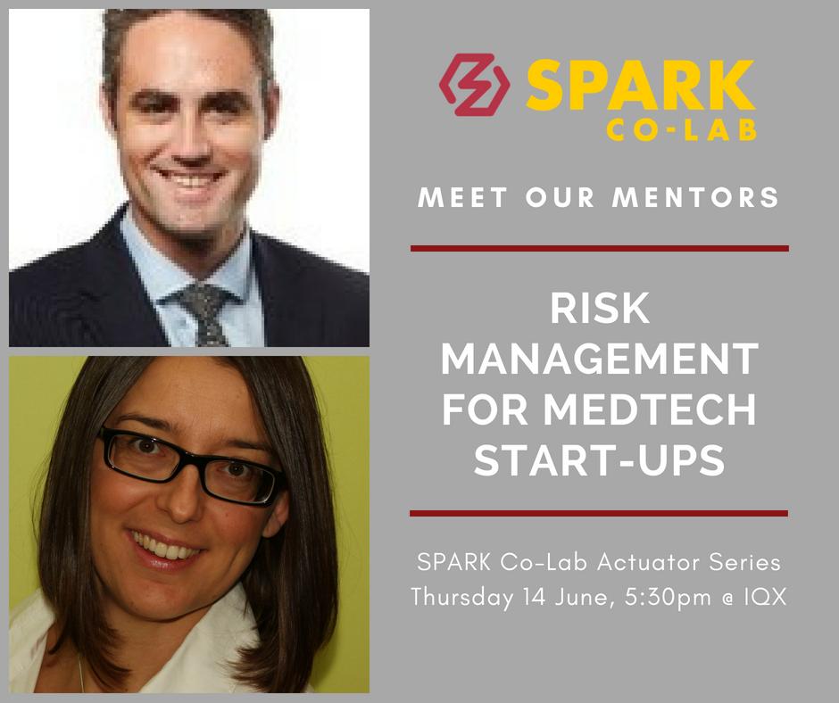 Meet Our Mentors:  Risk Management for MedTech Start-Ups